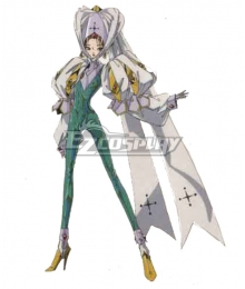The Five Star Stories Fatima Machi Cosplay Costume