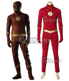 DC The Flash Season 5 The Flash Barry Allen Cosplay Costume