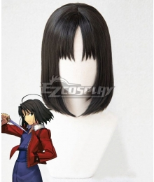The Garden of Sinners Shiki Ryougi Black Cosplay Wig