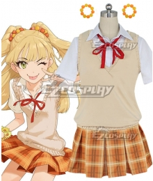 The Idolm@Star Cinderella Girls Rika Jougasaki Cosplay Costume