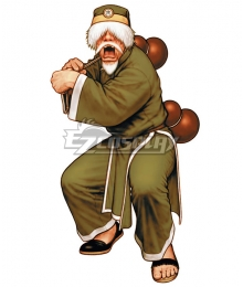 The King of Fighters 00 KOF Chin Gentsai Cosplay Costume