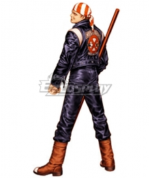 The King Of Fighters 01 KOF Billy Kane Cosplay Costume