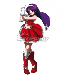 The King Of Fighters 03 KOF03 Athena Asamiya Cosplay Costume