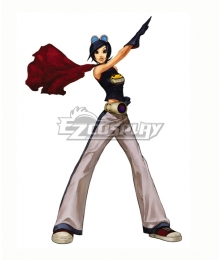 The King Of Fighters 2001 KOF May Lee Cosplay Costume