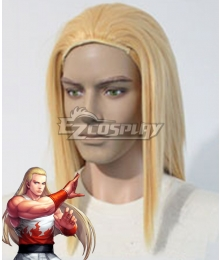 The King Of Fighters KOF Andy Bogard Golden Cosplay Wig