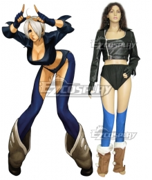 The King Of Fighters KOF Angel Cosplay Costume