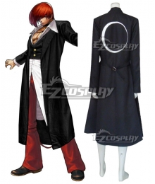 The King Of Fighters KOF Iori Yagami Black Cosplay Costume