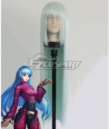 The King Of Fighters KOF Kula Diamond Silver Cosplay Wig