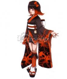 The King of Fighters KOF Ninon Beart Kimono Cosplay Costume