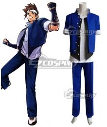 The King Of Fighters KOF Shingo Yabuki Cosplay Costume