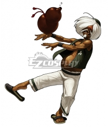 The King of Fighters XIII KOF Chin Gentsai Cosplay Costume