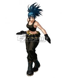 The King Of Fighters XIII KOF Leona Cosplay Costume