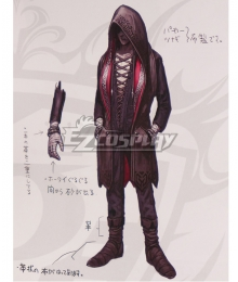 The King Of Fighters XIV KOF Kukri Cosplay Costume