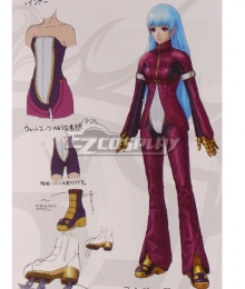 The King Of Fighters XIV KOF Kula Diamond Cosplay Costume