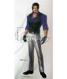The King Of Fighters XIV KOF Robert Garcia Cosplay Costume