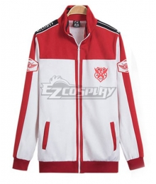 The King's Avatar Quan Zhi Gao Shou Happy Team Uniform Coat Cosplay Costume