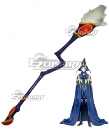 The King's Avatar Quan Zhi Gao Shou Wang Jiexi Vaccaria Broom Cosplay Weapon Prop
