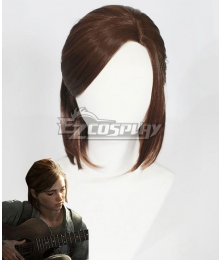 The Last of Us: Part II Ellie Brown Cosplay Wig