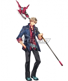 The Legend of Heroes - Hajimari no Kiseki Ash Carbide Cosplay Costume