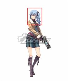 The Legend of Heroes - Hajimari no Kiseki Claire Rieveldt Blue Cosplay Wig