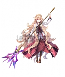 The Legend of Heroes - Hajimari no Kiseki Crimson Roselia Cosplay Costume