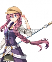 The Legend of Heroes - Hajimari no Kiseki Emma Millstein Purple Cosplay Wig