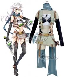The Legend of Heroes - Hajimari no Kiseki Fie Claussell Cosplay Costume
