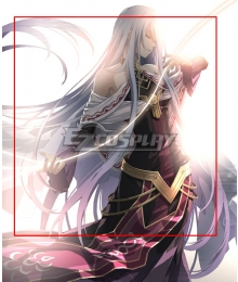 The Legend of Heroes - Hajimari no Kiseki Grandmaster Silver Cosplay Wig