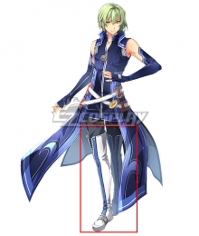 The Legend of Heroes - Hajimari no Kiseki Wazy Hemisphere White Shoes Cosplay Boots
