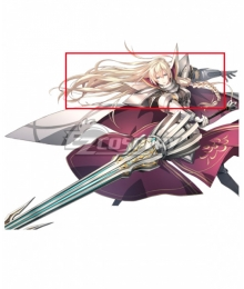 The Legend of Heroes Trails of Azure Arianrhod Golden Cosplay Wig
