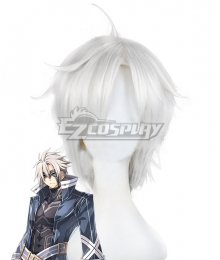 The Legend of Heroes: Trails of Cold Steel III Azure Siegfried White Cosplay Wig