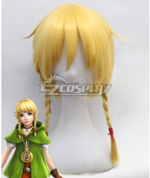 The Legend of Zelda: Breath of the Wild Linkle Yellow Cosplay Wig