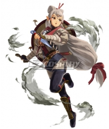 The Legend of Zelda Hyrule Warriors: Age of Calamity Impa Cosplay Costume