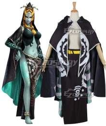 The Legend of Zelda: Hyrule Warriors Twili Midna Cosplay Costume