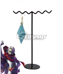 The Legend of Zelda Skyward Sword Ghirahim Earrings Cosplay Accessory Prop