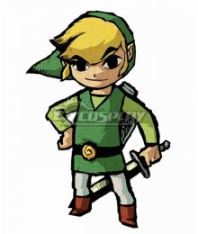 The Legend of Zelda: The Wind Waker HD Link Cosplay Costume