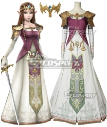 The Legend Of Zelda Zeruda No Densetsu Twilight Princess Princess Of Hyrule Zelda Zeruda Hime Cosplay Costume