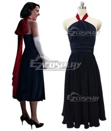 The Marvelous Mrs. Maisel Season 3 Miriam 'Midge' Maisel Black Dress Cosplay Costume
