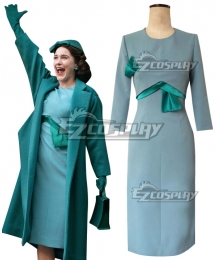 The Marvelous Mrs. Maisel Season 3 Miriam 'Midge' Maisel Blue Cosplay Costume