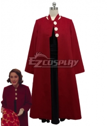 The Marvelous Mrs. Maisel Season 3 Miriam 'Midge' Maisel  Red Cosplay Costume