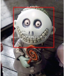The Nightmare Before Christmas Barrel Halloween Mask Cosplay Accessory Prop