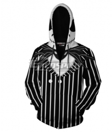 The Nightmare Before Christmas Jack Skellington Hoodie Cosplay Costume