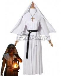 The Nun 2018 Horror Moive Halloween Sister Irene Cosplay Costume