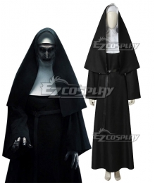 The Nun Valak Demon Nun Cosplay Costume