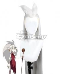 The Owl House Eda Gray Cosplay Wig