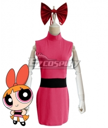 The Powerpuff Girls Blossom Cosplay Costume