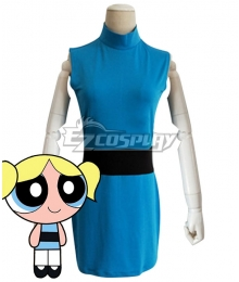 The Powerpuff Girls Bubbles Cosplay Costume