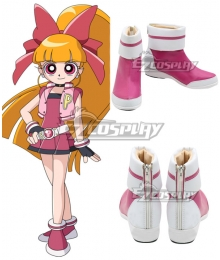 The Powerpuff Girls Z Blossom Momoko Akatsutsumi Pink Cosplay Shoes