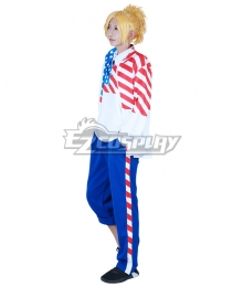 The Prince of Tennis II USA American Kiko Balentien Ryoma Echizen Cosplay Costume