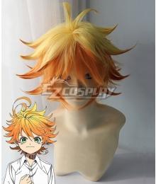 The Promised Neverland Emma Orange Golden Cosplay Wig